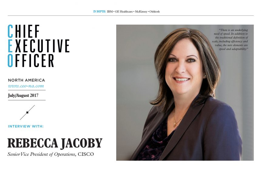 Chief Executive Officer North America, a not usual business magazine