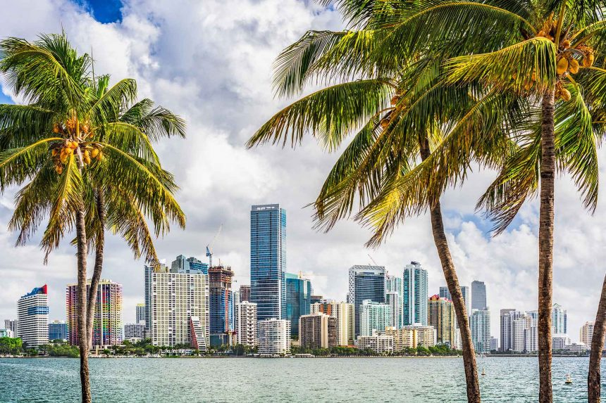 Miami is becoming the home for the country's new businesses