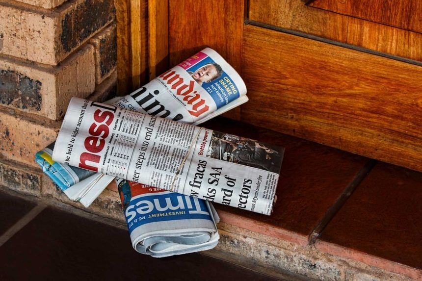 Free fall for the US newspaper industry