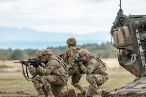 The U.S. Army budget for 2017 prefers readiness over modernization.