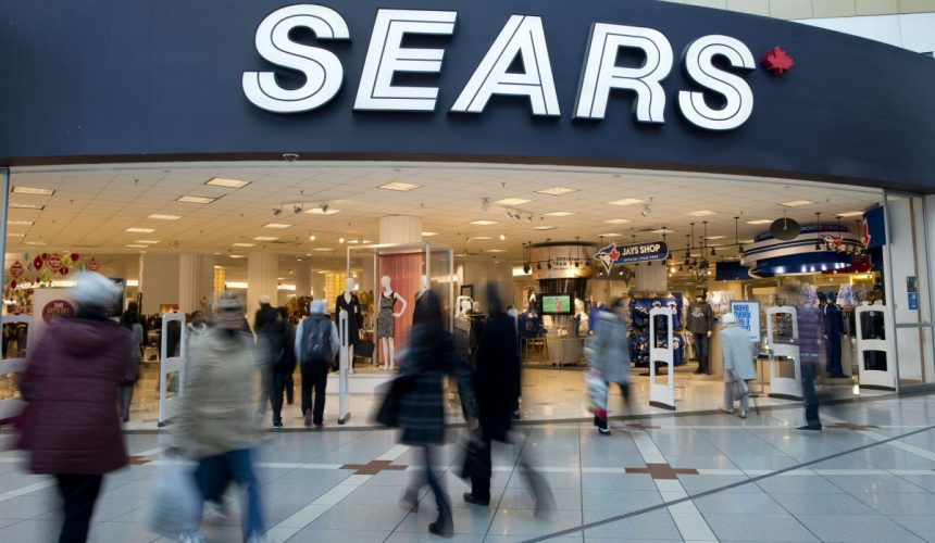 Demise of Sears Voted Canadian Press Business Story of 2017
