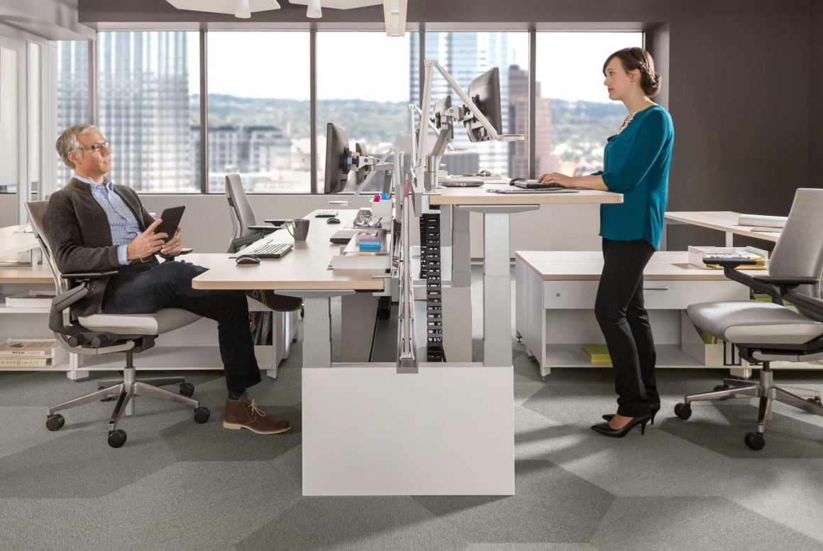 Standing desks put health first, but will they catch on?