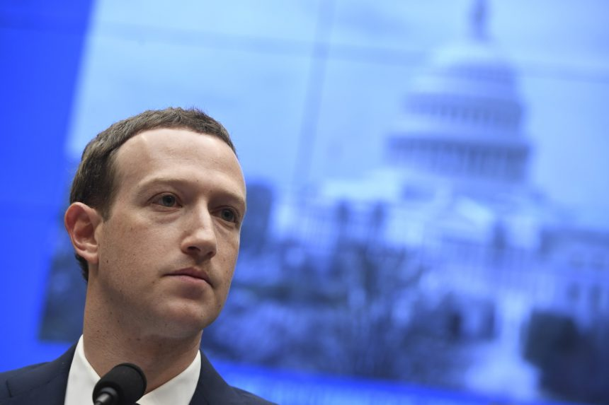 Facebook CEO Mark Zuckerberg in the Political Spotlight