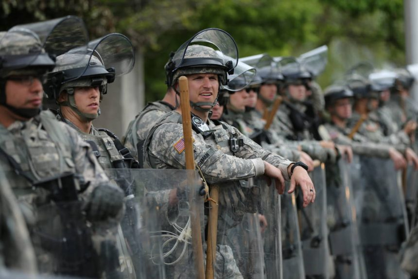 The National Guard goes to the border