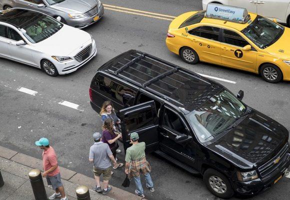 New York passes landmark ride-hail service regulation