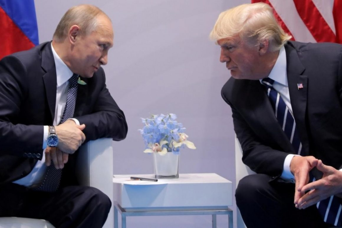Who trusts Trump and Putin?