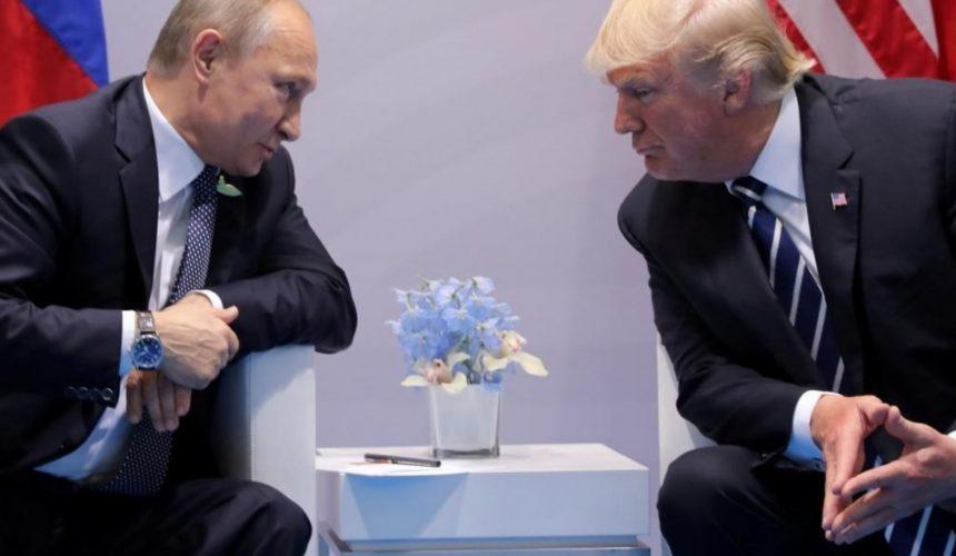 Who trusts Trump and Putin?