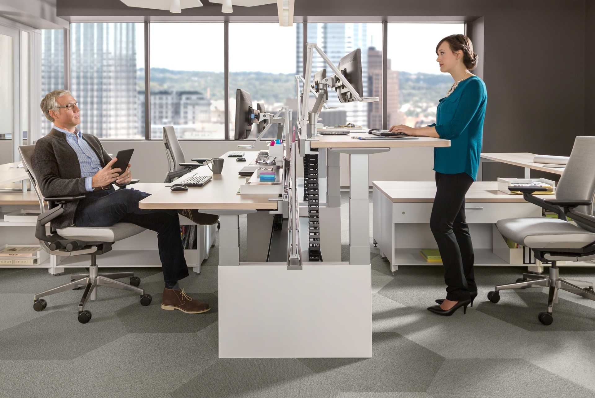 Standing Desks Executive Stand Up Desk: Standing Desks Put Health First, But Will They Catch On
