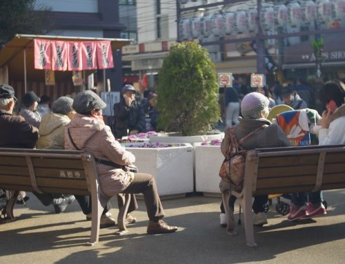 Japan's aging –and foreign– society