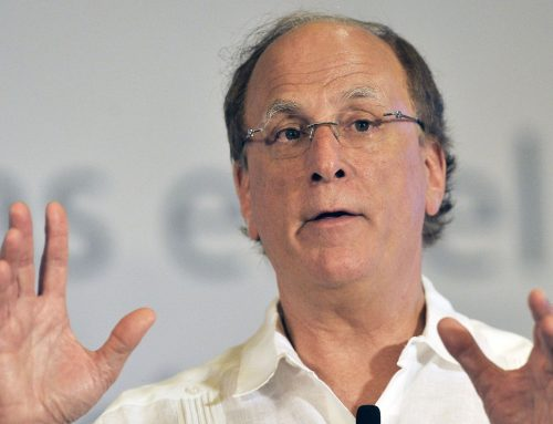 CEO Larry Fink sees 'a fundamental reshaping of finance'
