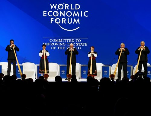 Economic uncertainty descends over Davos