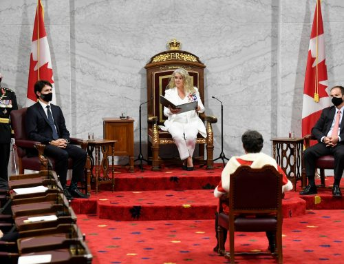 The promise in Canada's throne speech
